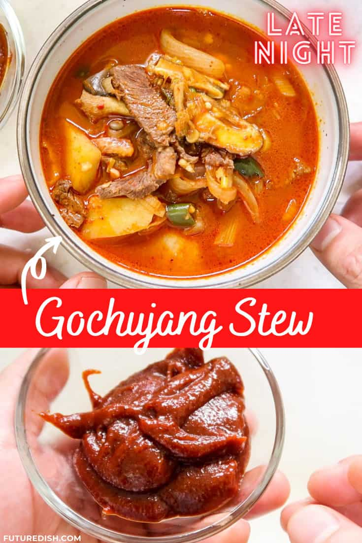 Gochujang Jjigae - Pinterest