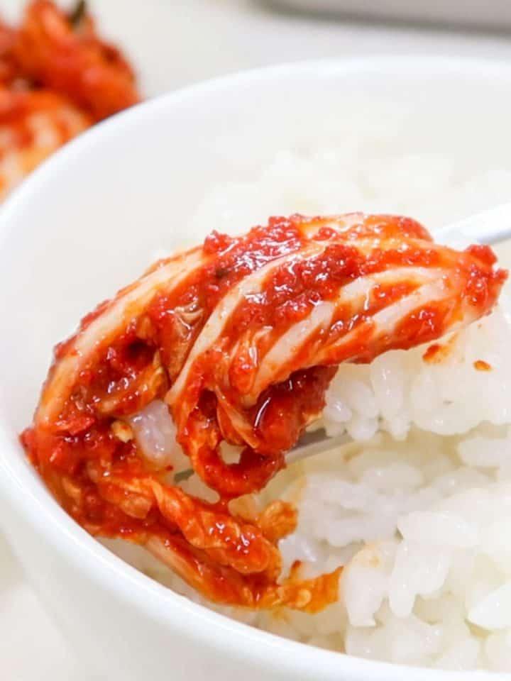 Fresh Kimchi (geotjeori)