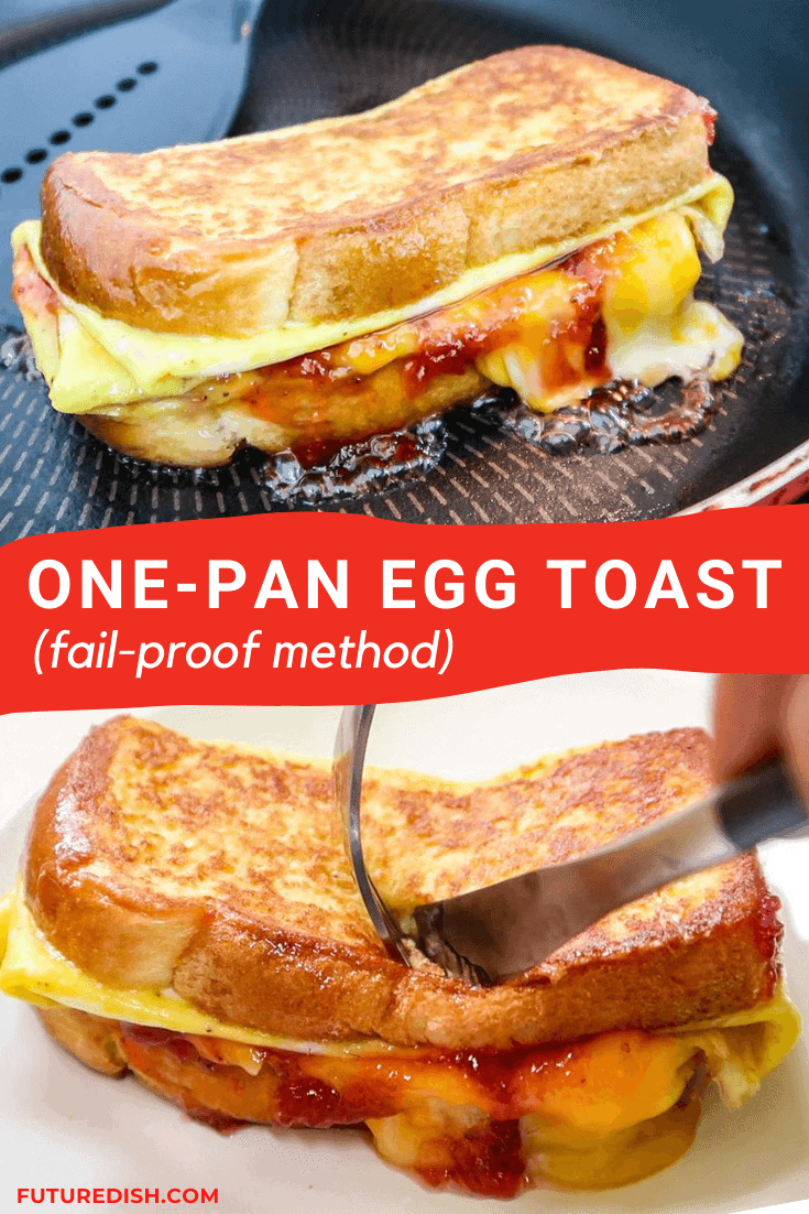 One Pan Egg Toast - Pinterest - 5
