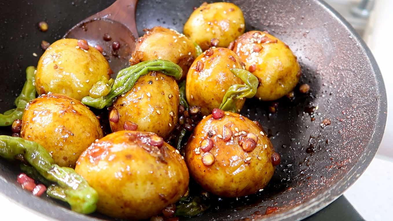 Korean Braised Potatoes