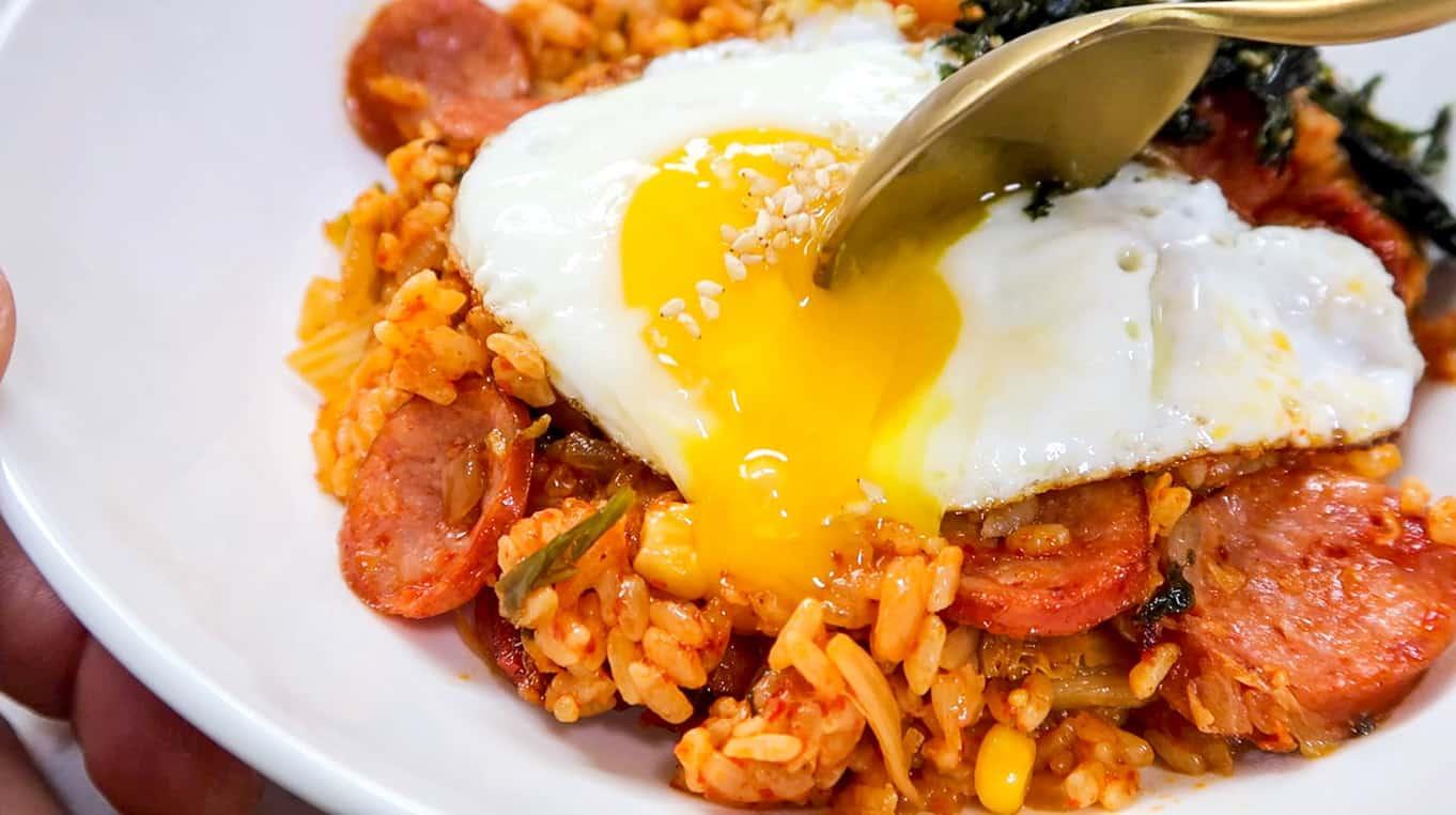 Best Kimchi Fried Rice