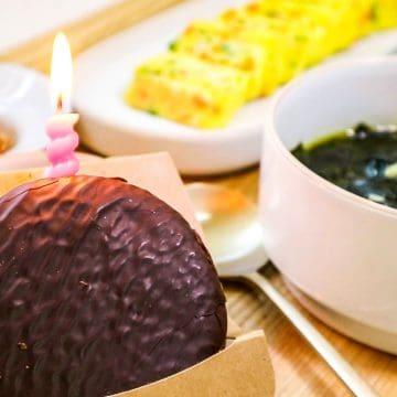Korean Birthday Meal