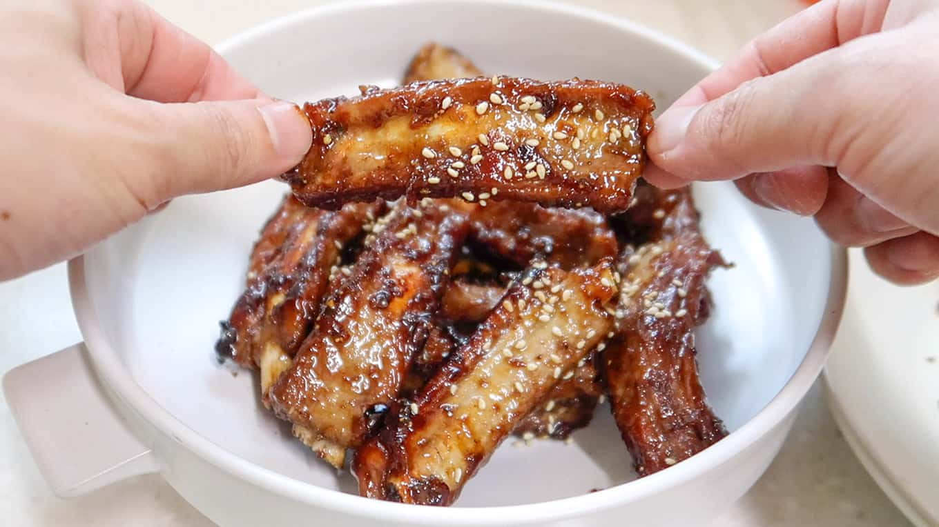 Korean Hansik Meal - Sticky Ribs