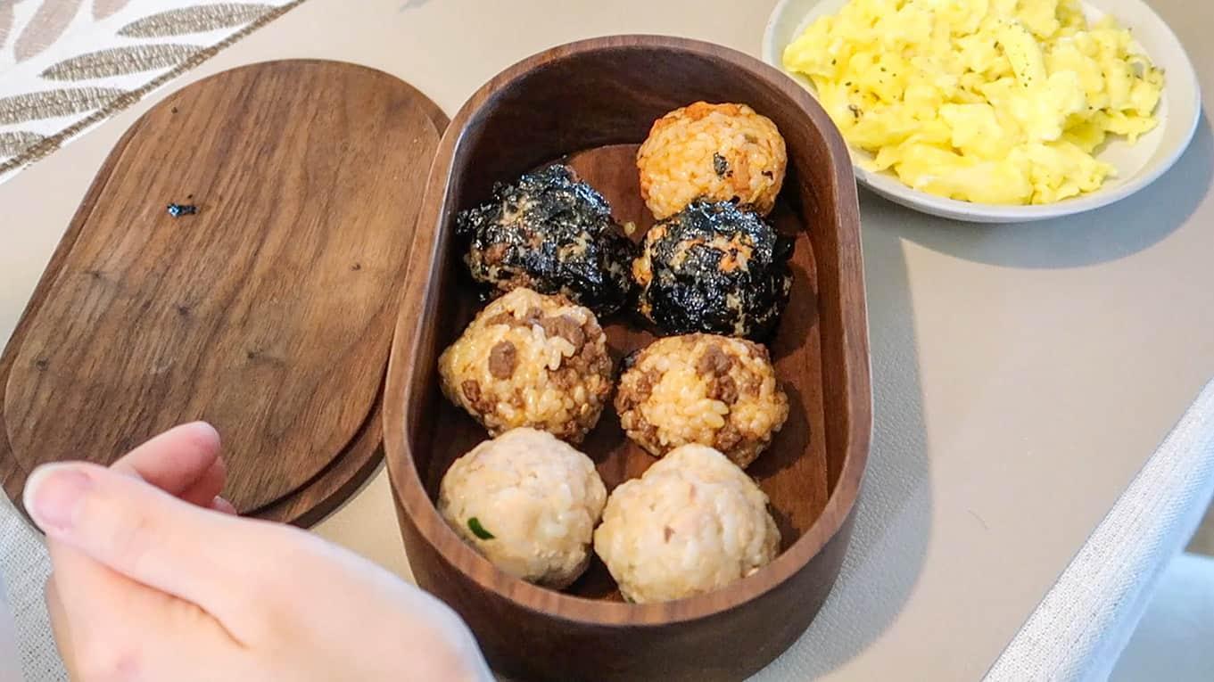 Jumeok Bap - Korean Rice Balls (3 Ways)