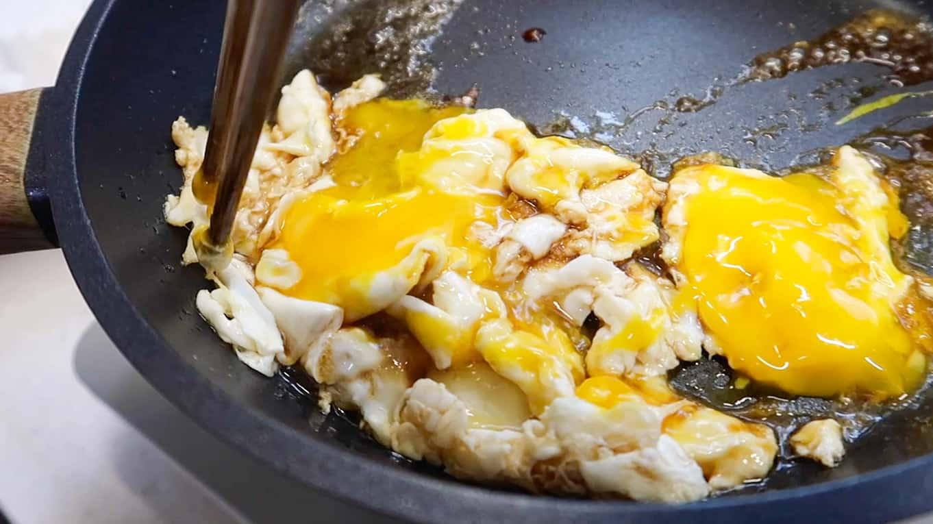 Korean Scrambled Eggs 1