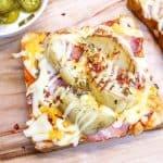 Korean Potato Pizza