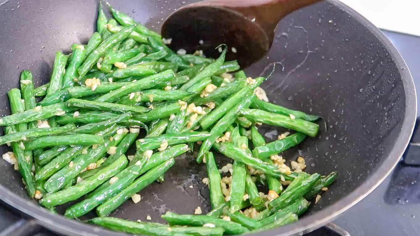 Chinese Garlic Green Bean 4