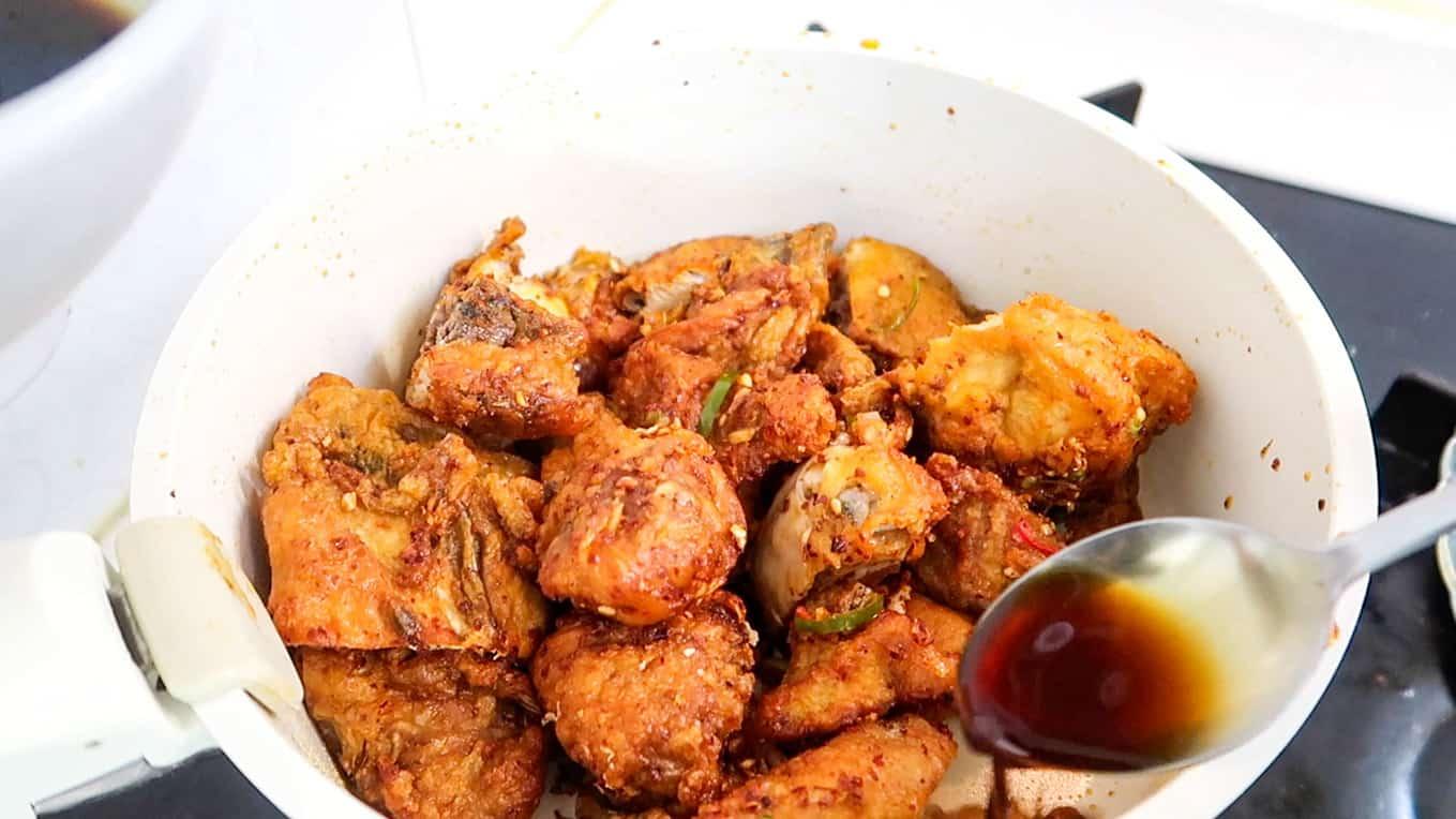kkanpunggi chicken