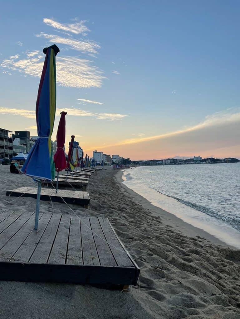 Goseong Country - Bongpo Beach